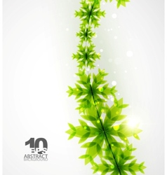 green christmas concept vector image