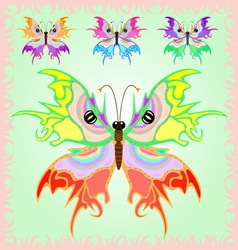 Butterfly from the fairy tales vector