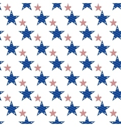Hapy independence day seamless pattern vector