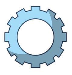 gear work cooperation business concept vector image