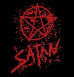 Satan symbol vector