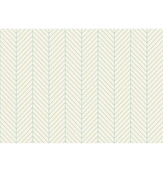 Seamless abstract pattern of classic zigzag vector image vector image