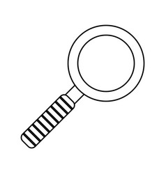 Search innovation find outline vector