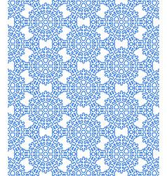 Snowflake hexagon pattern vector