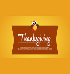 Thanksgiving background style collection stock vector