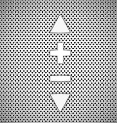 Volume background vector