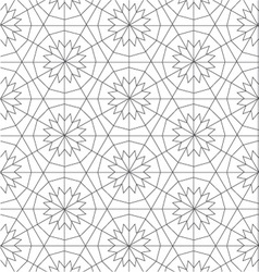 Geometric repeatable pattern background design vector