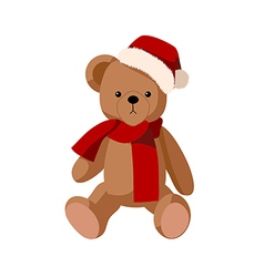 A bear doll vector