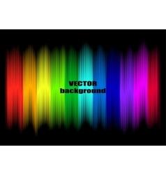 Abstract rainbow colours vector