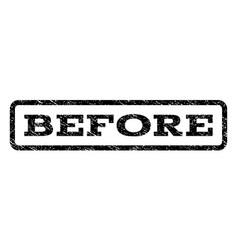 Before watermark stamp vector