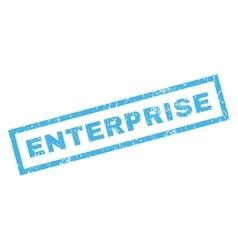 Enterprise rubber stamp vector