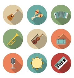 Icon of musical equipment vector
