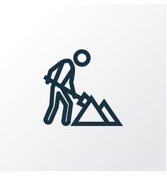 Maintenance outline symbol premium quality vector