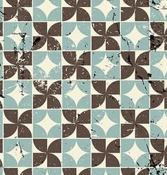 Vintage bright geometric seamless pattern abstract vector
