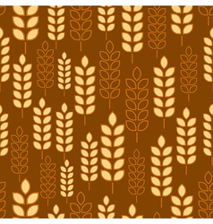 Wheat seamless3 vector