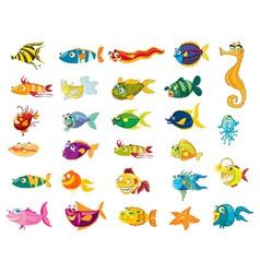 fishy vector image