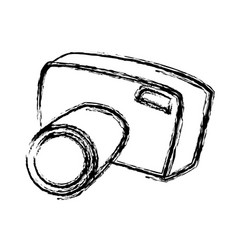 Sketch camera photo picture equipment tourism vector
