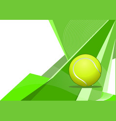 tennis abstract background vector image