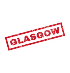 Glasgow rubber stamp vector