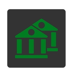 Banks icon vector