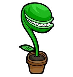 Evil plant vector