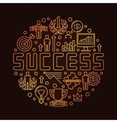Round success linear symbol vector