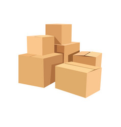 package box set vector image vector image