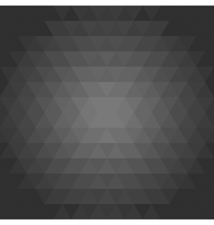 Geometric pattern with flow effect vector
