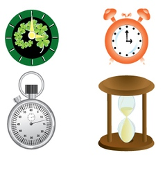 kind of clock vector image vector image