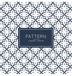 Pattern decoration abstract background vector