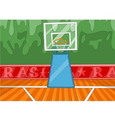 Basketball stadium vector