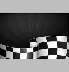 Black racing background vector