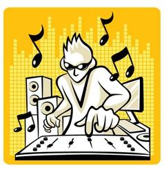 Music DJ vector image vector image