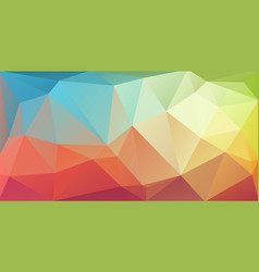 super horizontal triangle cover banner vector image vector image