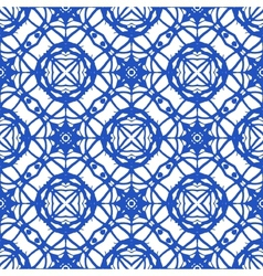 Seamless pattern with mediterranean motifs vector