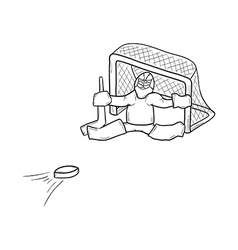 Sketch of the goalkeeper vector