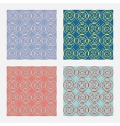 abstract pattern Rose vector image vector image