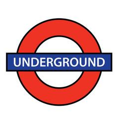 london underground vector image