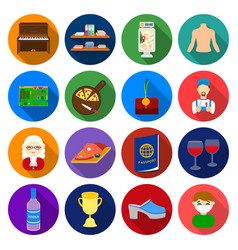 agriculture trade sport and other web icon in vector image