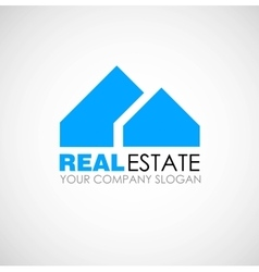Real estate logo design real estate business vector