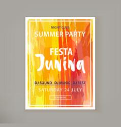Festa junina fest vector