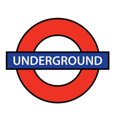 london underground vector image