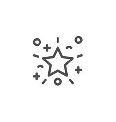 Party line icon vector