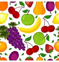 Seamless pattern for a healthy lifestyle vector