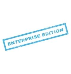 Enterprise Edition Rubber Stamp vector image vector image