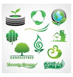 Greens Symbol vector image vector image