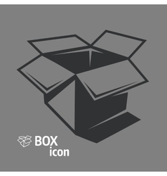 Open box icon vector image vector image