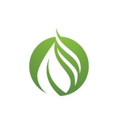 Water logo template vector