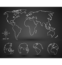 World map2 vector