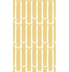 Greek column background seamless architectural vector